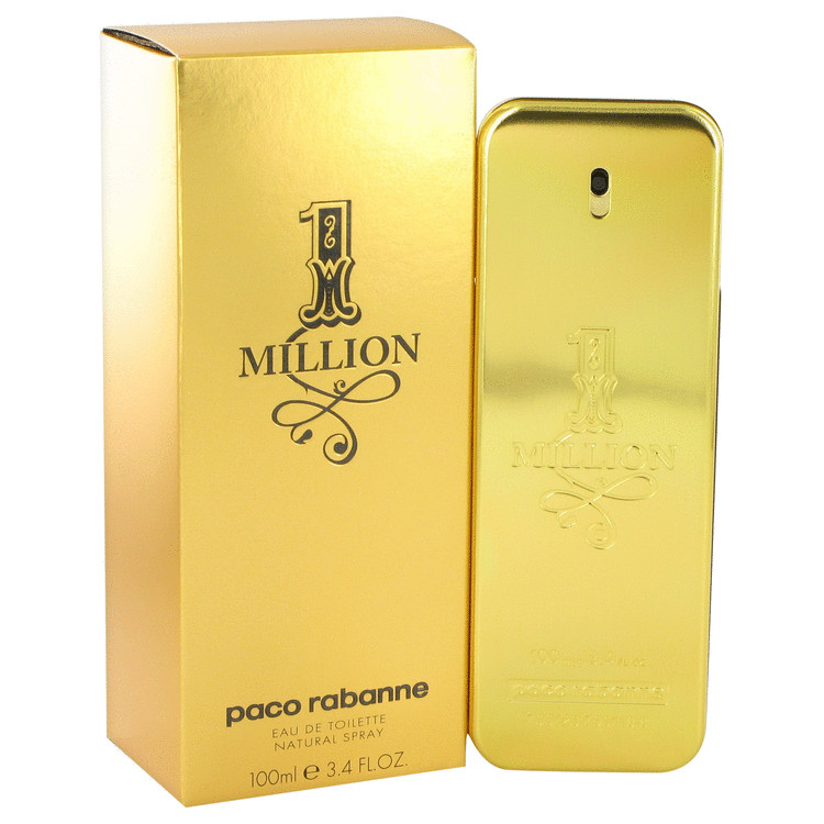1 Million By Paco Rabanne Eau De Toilette Spray 3 4 Oz
