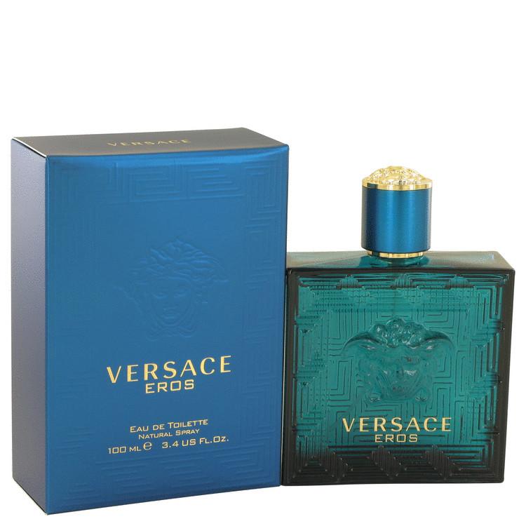 Versace Eros By Versace Eau De Toilette Spray 3 4 Oz Fragrance